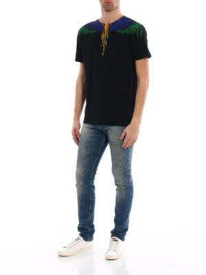Marcelo Burlon: t-shirts online - Color Wing T-shirt