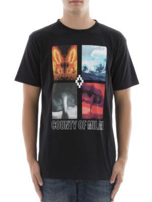 Marcelo Burlon: t-shirts online - Diuca printed T-shirt