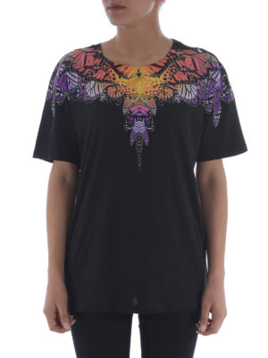 Marcelo Burlon: t-shirts online - Filipa printed yoke T-shirt