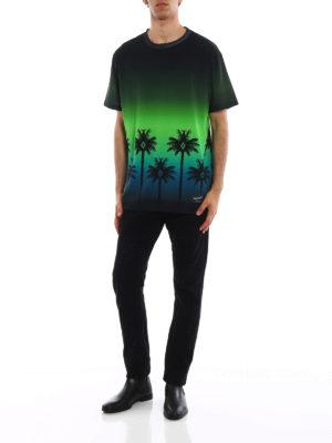 Marcelo Burlon: t-shirts online - Gothic Surfer printed T-shirt