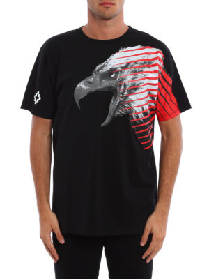 Marcelo Burlon: t-shirts online - Iamens eagle print T-shirt