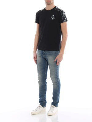 Marcelo Burlon: t-shirts online - Kappa Tape T-shirt