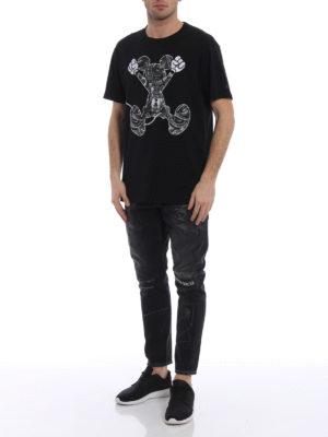 Marcelo Burlon: t-shirts online - Mickey Mouse Jump T-shirt