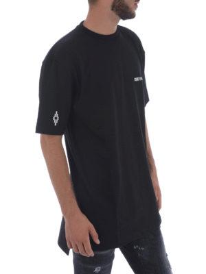 Marcelo Burlon: t-shirts online - Milla side vents cotton T-shirt