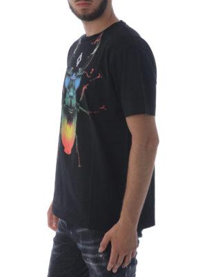 Marcelo Burlon: t-shirts online - Otitl print cotton T-shirt