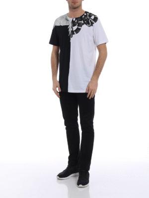 Marcelo Burlon: t-shirts online - Snake Wing T-shirt