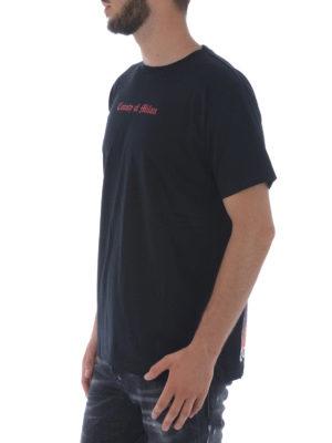 Marcelo Burlon: t-shirts online - Tekaio print cotton T-shirt