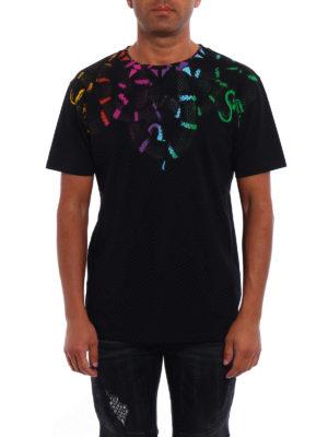 Marcelo Burlon: t-shirts online - Tico yoke printed T-shirt