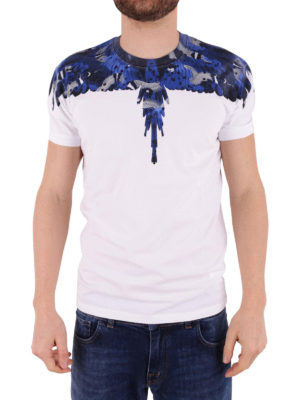 Marcelo Burlon: t-shirts online - Wings cotton T-shirt
