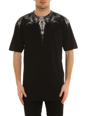 Marcelo Burlon: t-shirts online - Yago printed cotton T-shirt