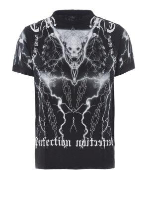 Marcelo Burlon: t-shirts - Piuke printed cotton Tee