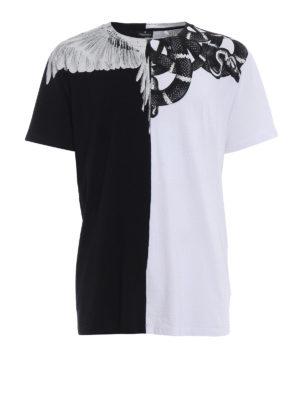 Marcelo Burlon: t-shirts - Snake Wing T-shirt