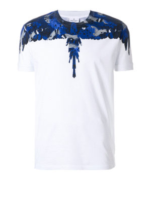Marcelo Burlon: t-shirts - Wings cotton T-shirt