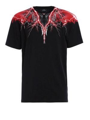 Marcelo Burlon: t-shirts - Worr T-shirt