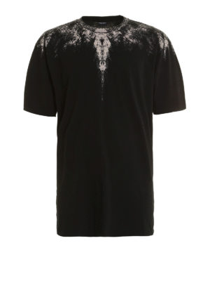 Marcelo Burlon: t-shirts - Yago printed cotton T-shirt