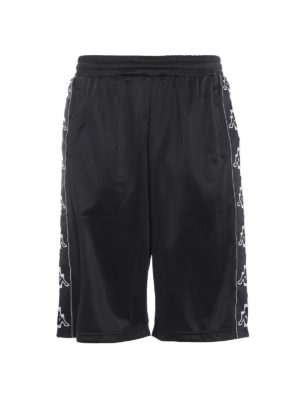 Marcelo Burlon: tracksuit bottoms - Kappa sporty bermuda shorts