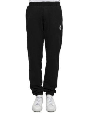Marcelo Burlon: tracksuit bottoms online - Printed back tracksuit bottoms