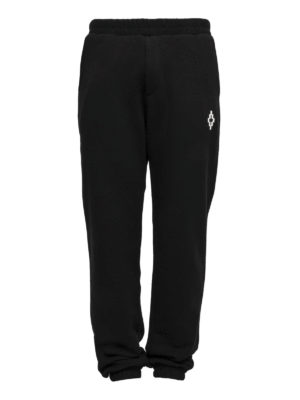 Marcelo Burlon: tracksuit bottoms - Printed back tracksuit bottoms