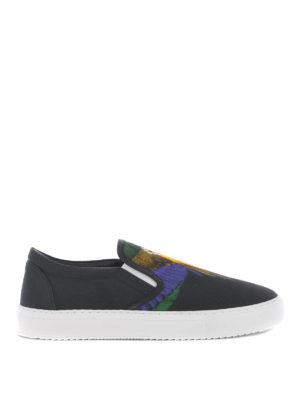 Marcelo Burlon: sneakers - Slip-on Color Wing