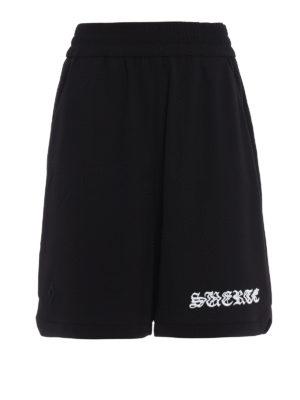 Marcelo Burlon: Trousers Shorts - Guernica shorts