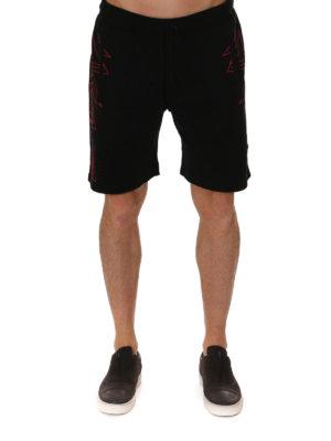 Marcelo Burlon: Trousers Shorts online - Lamborghini shorts
