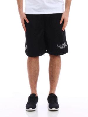 Marcelo Burlon: Trousers Shorts online - Orlando techno jersey short pants