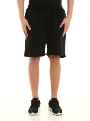 Marcelo Burlon: Trousers Shorts online - Paco jersey cotton short pants