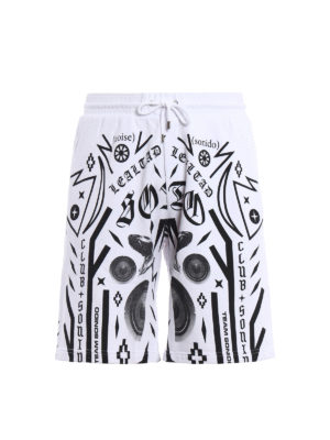 Marcelo Burlon: Trousers Shorts - Rico short track pants