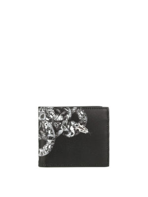 Marcelo Burlon: wallets & purses - Ke Wallet printed leather wallet