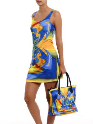Maria Enrica Nardi: cover-ups online - Thaiti multicolour tank top dress