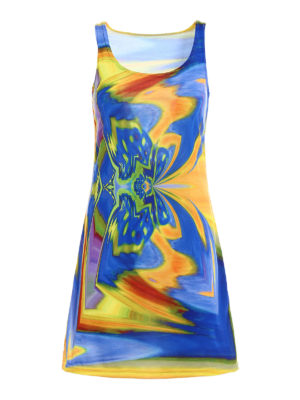 Maria Enrica Nardi: cover-ups - Thaiti multicolour tank top dress