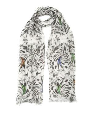 Maria Enrica Nardi: scarves - Julia printed silk georgette scarf