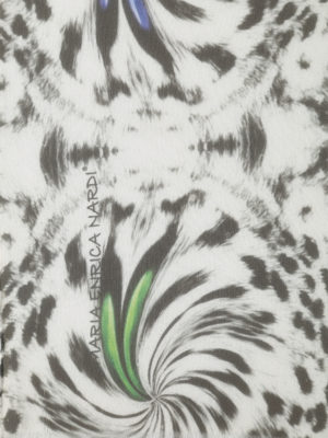 Maria Enrica Nardi: scarves online - Julia printed silk georgette scarf