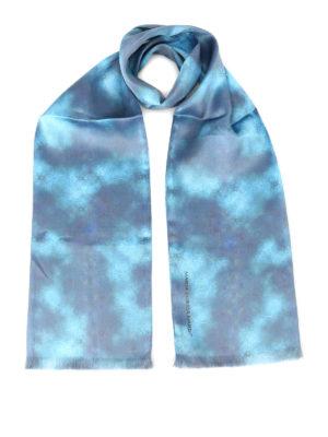 Maria Enrica Nardi: scarves - Selinunte digital print silk scarf