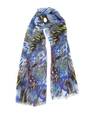 Maria Enrica Nardi: scarves - Sharon printed silk georgette scarf