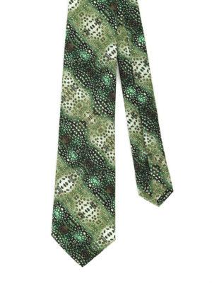 Maria Enrica Nardi: ties & bow ties - Acireale cotton blend tie