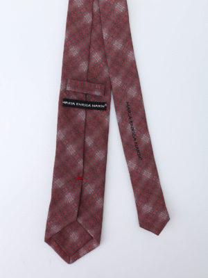 Maria Enrica Nardi: ties & bow ties online - Camogli cotton blend tie