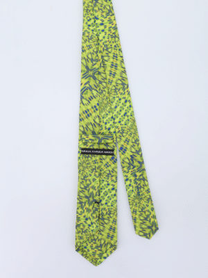 Maria Enrica Nardi: ties & bow ties online - Caprera cotton blend tie
