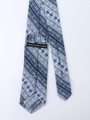 Maria Enrica Nardi: ties & bow ties online - iKrix cotton blend tie