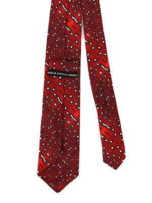 Maria Enrica Nardi: ties & bow ties online - Procida cotton blend tie