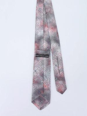 Maria Enrica Nardi: ties & bow ties online - Stintino silk tie