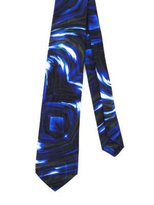Maria Enrica Nardi: ties & bow ties - Portovenere cotton blend tie