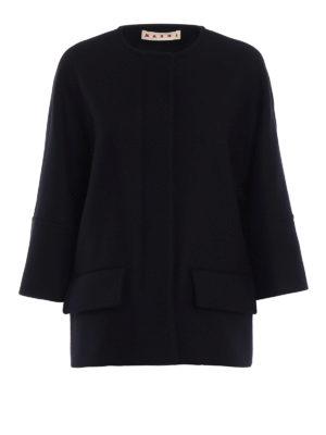 Marni: casual jackets - Wool blend cloth jacket