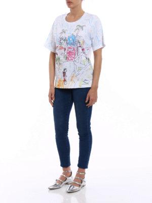 Marni: t-shirts online - Maria Magdalena Suarez print Tee
