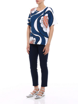 Marni: t-shirts online - Pattern printed over T-shirt