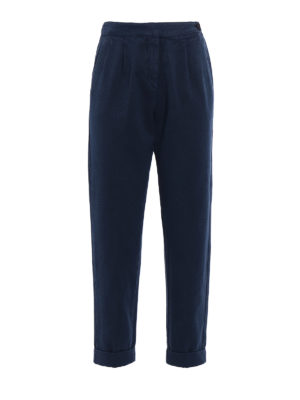 Massimo Alba: casual trousers - Cotton and cashmere trousers