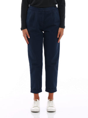Massimo Alba: casual trousers online - Cotton and cashmere trousers