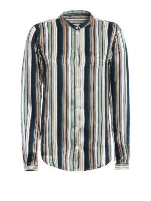 Massimo Alba: shirts - Vertical striped silk shirt