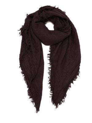 MASSIMO ALBA: Stole & Scialli - Scialle in lana e seta