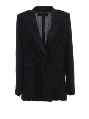 Max Mara: giacche blazer - Blazer Viterbo in tessuto jacquard